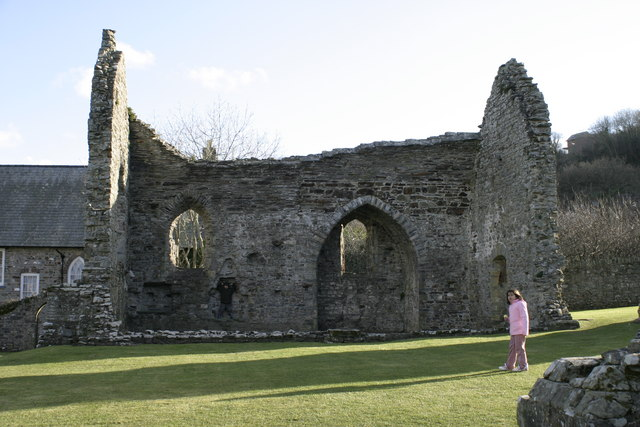 St Dogmaels Abbey Ruin