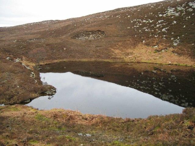 Lochan near Oskaig