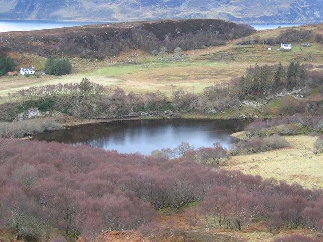 Loch Eadar da Bhaile