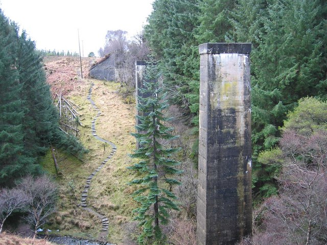 Viaduct on the Suisnish Railway