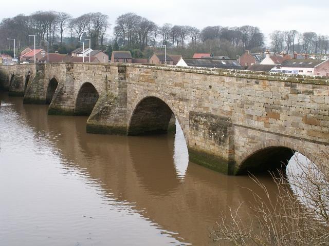 Guardbridge, old bridge