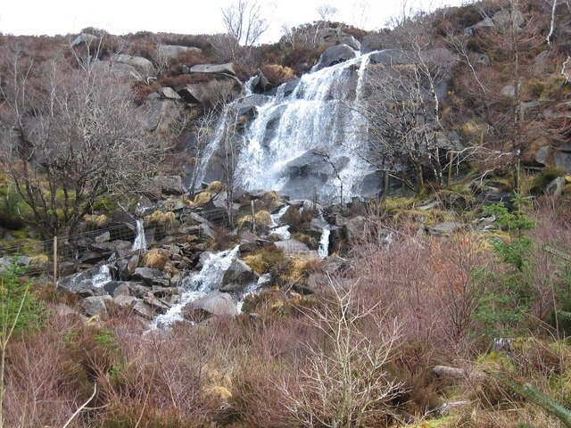 Waterfall in Raasay Forest