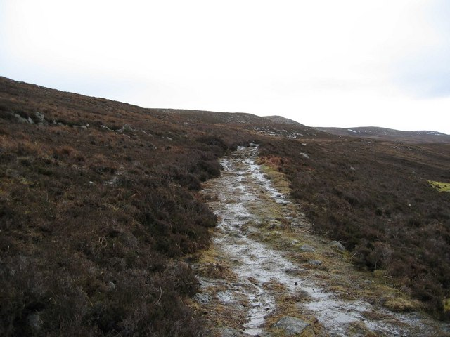 Path to Dun Caan
