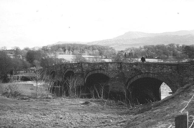 Bridge, Llanelltyd.