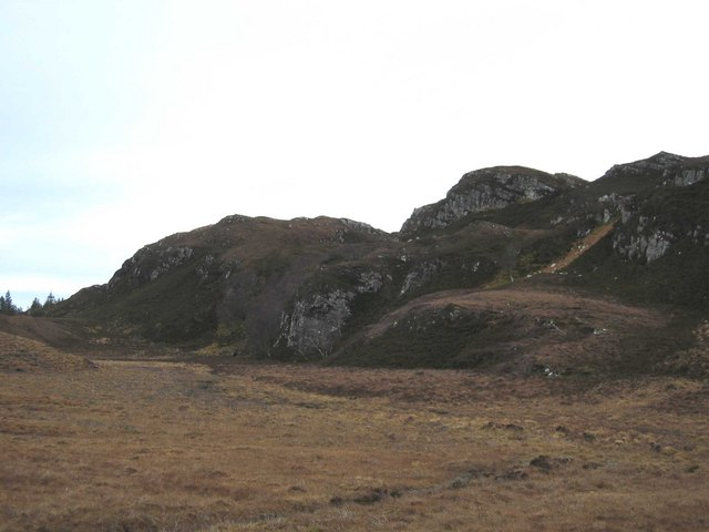 Moorland above Brochel