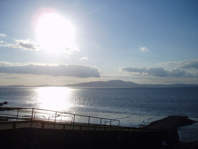Evening over the Solway, 10 May 2005.