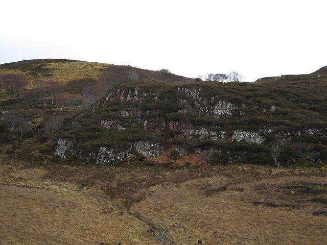 Moorland Cliff
