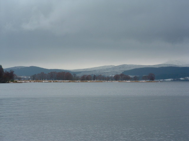 Eilean Mor as seen from Blackwood Lodge