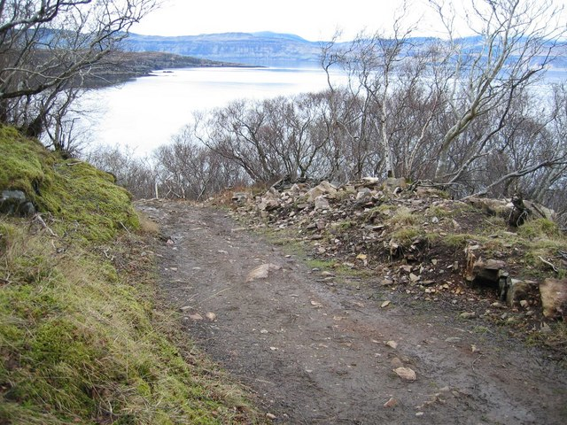 The Track between Arnish and Torran