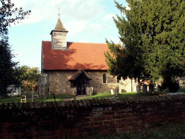 St. Nicholas' church, Little Braxted, Essex