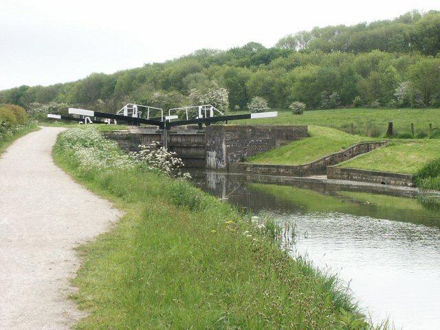 Woolsthorpe Top Lock, Grantham Canal