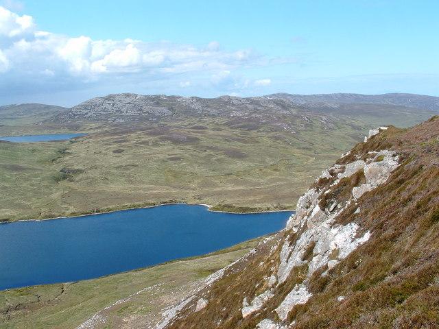 Loch Leathan an Sgorra Islay