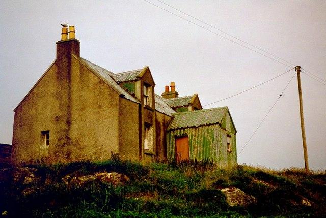 Exposed House in Eriskay