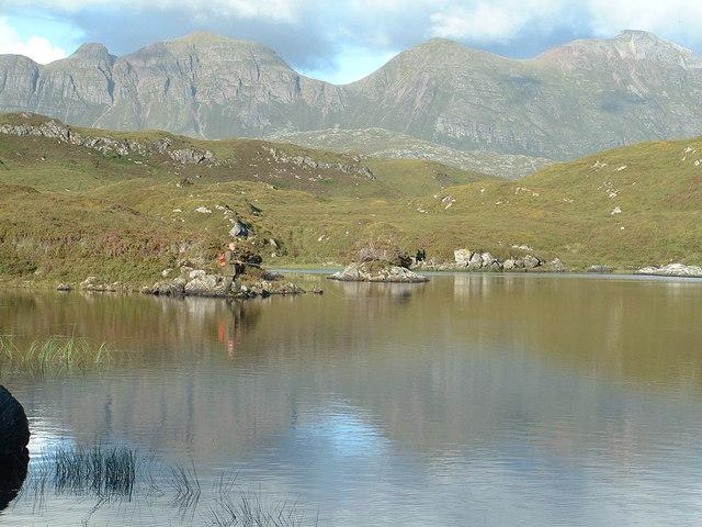 Loch an t-Sabhail (Lochinver)