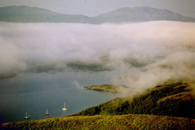 Loch na Droma Buidhe. Anchorage.