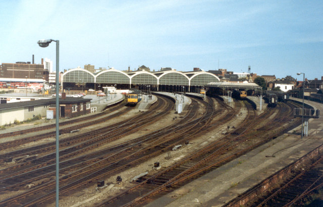 Paragon Railway Station Hull, 19th June 1983