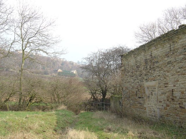 Thornhill Edge from the ruins of Mug Mill
