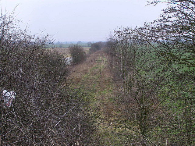 Disused railway track, Ulnaby Lane