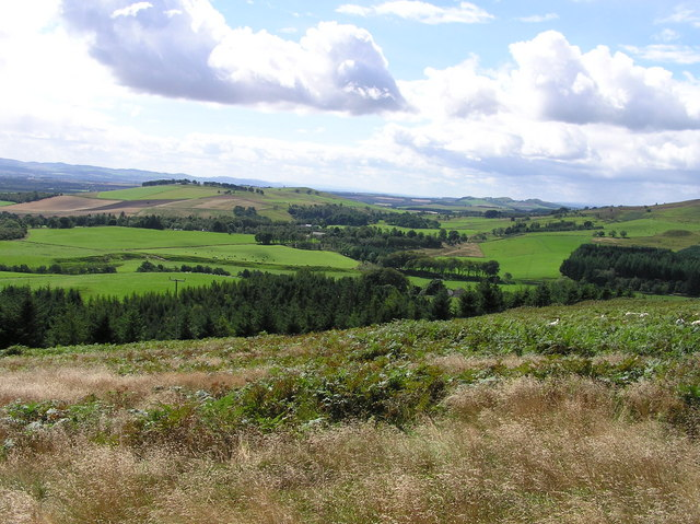 Vista from Glen Lye Hill