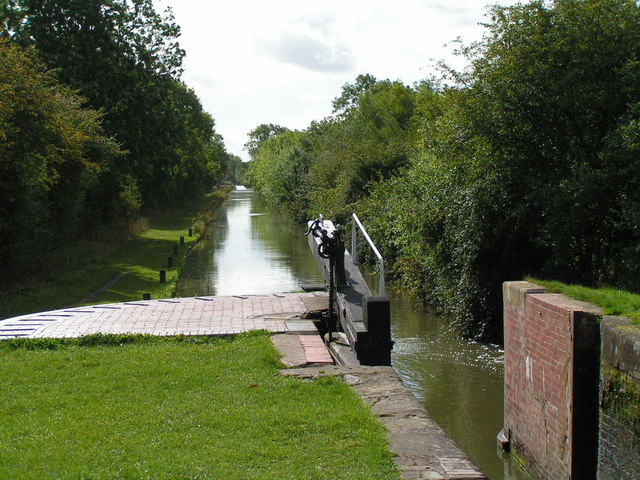 Looking back towards Edstone aqueduct