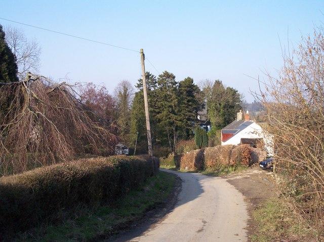 Moorend near Upton St. Leonards