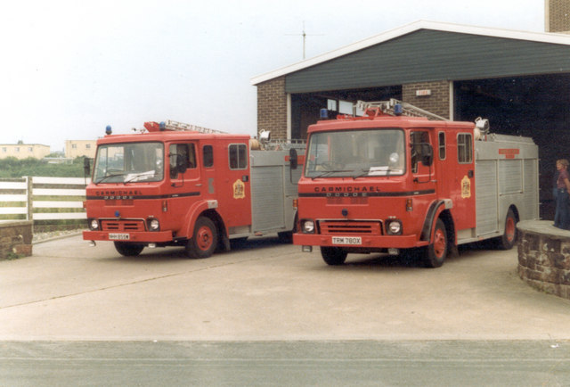 Maryport Fire Station, July 1983.