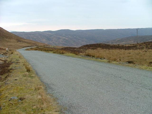 Road over Moorland