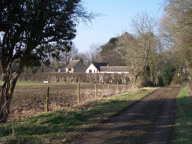 Old Road from Manor Farm to Bondend