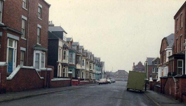 Beaconsfield Street, Hartlepool, 1984.
