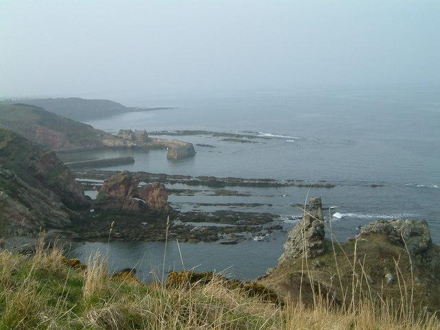Cove coast Southern Upland Way