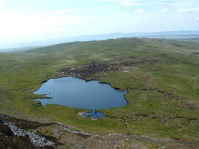 Lochan southwest of Loch Leathann an Sgorra - Islay