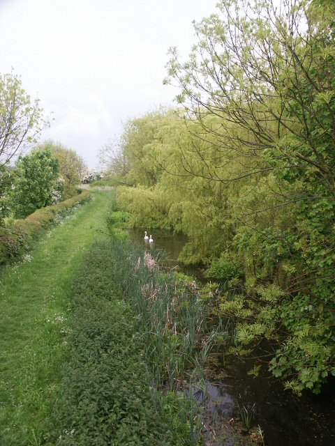 Grantham Canal E of Longore Bridge