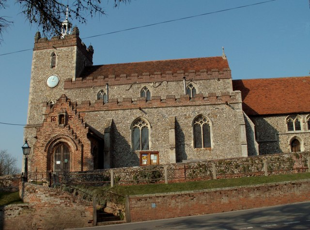 St. John the Baptist church, Pebmarsh, Essex