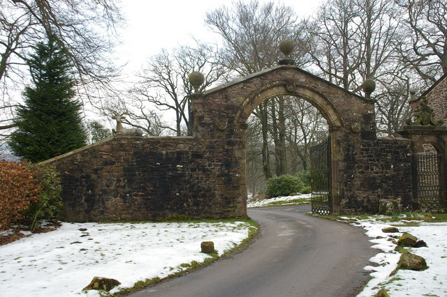 Entrance to Browsholme Hall