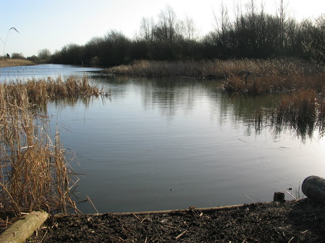 Private lake at Stanford-Le-Hope