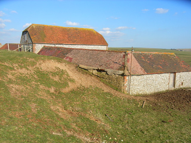 Barn on Eastdean Down
