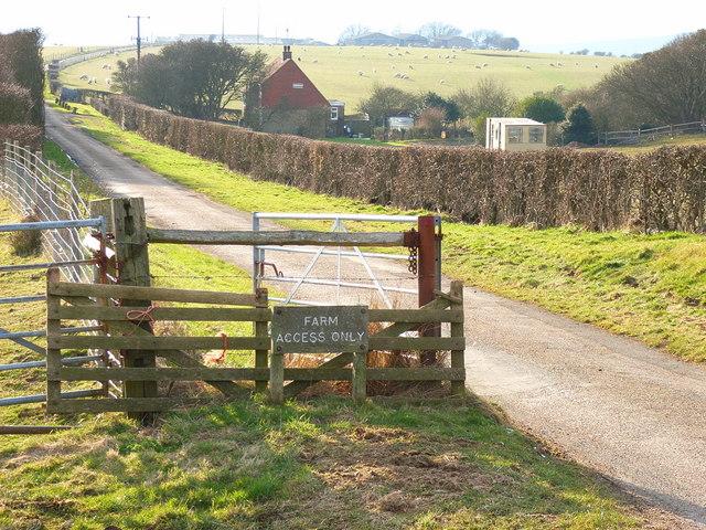 Gateway to Bullock Down