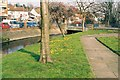 Dist:0.2km<br/>Here the Cray runs through a pleasant garden area near the centre of Crayford