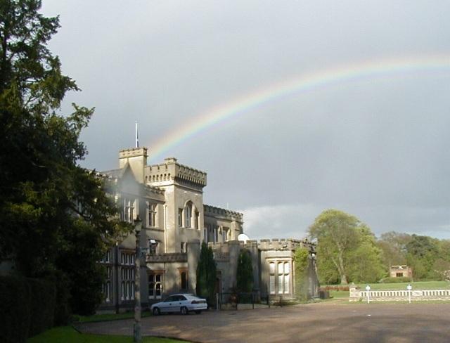 Rainbow over Kingswood Warren