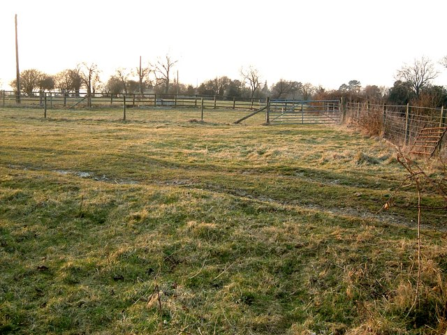 Paddocks near Hawridge Court