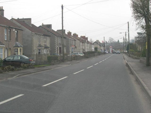 B3139 through Chilcompton