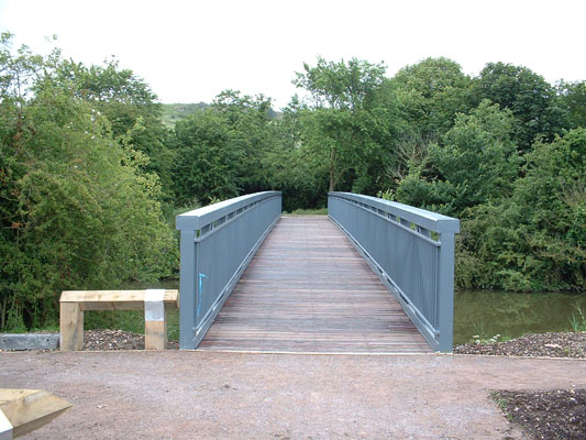 New bridge over the Royal Military Canal, Hythe