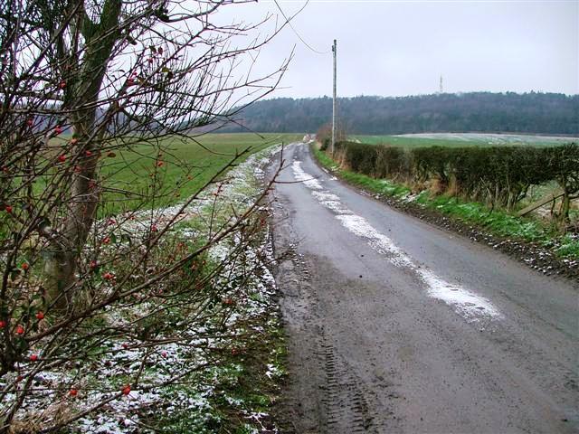 Farm Track and Public Bridleway to Popular Farm