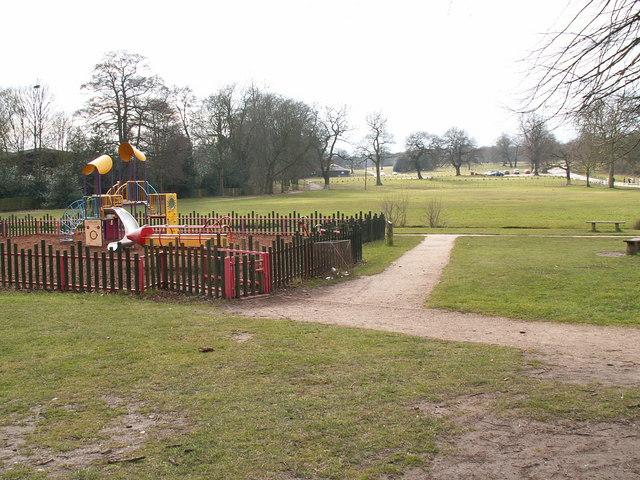 Play area, Sutton Park