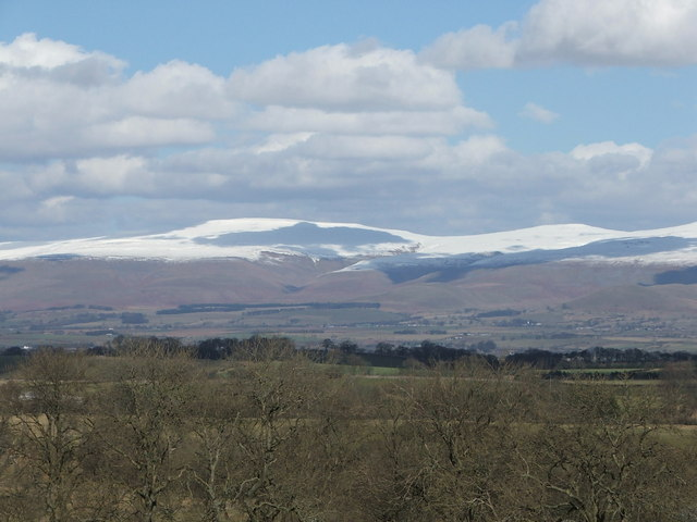 Pennines from brackenslack
