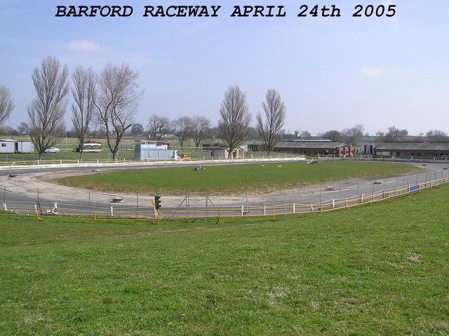 Barford Raceway : Nr.Barnard Castle