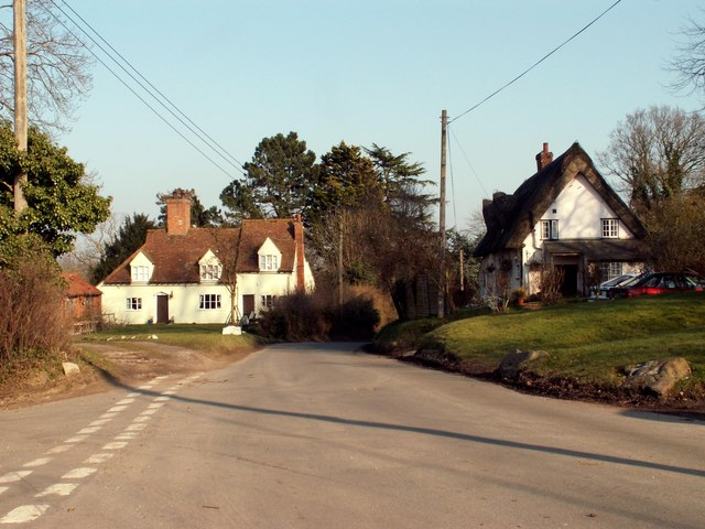 Village scene, Alphamstone, Essex