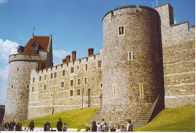 Curfew and Garter Towers, Windsor Castle.