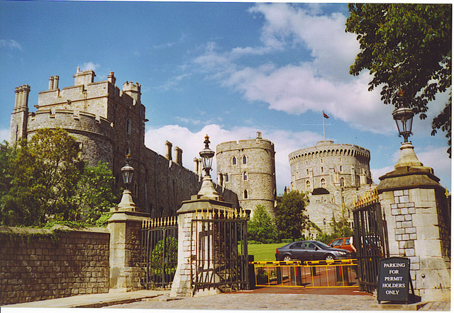 Towers at Windsor Castle.