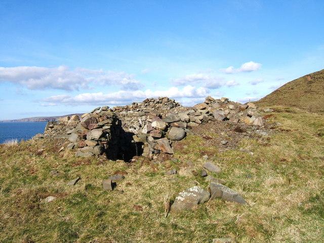 Doon Castle Broch, High Ardwell Bay